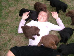 Katie & Puppies